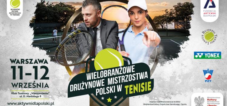 II Wielobranżowe Drużynowe Mistrzostwa Polski w Tenisie
